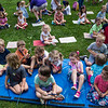 "Children wait for the performance of ""Three Little Pigs"" at the Children's School open house on Friday, July 14, 2017. ERIN CLARK / STAFF PHOTOGRAPHER"