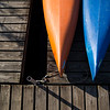 Kayaks sit in the evening light on the docks of the Chautauqua Lake on Wednesday, June 14, 2017. ERIN CLARK / STAFF PHOTOGRAPHER