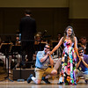 "From left, Mario Diaz-Moresco, Natalie Rose Havens, and Arnold Livingston Geis perform W.A. Mozart's ""Alla bella Despinetta"" from ""Cosi fan tutte"" at the Chautauqua Symphony Orchestra Opera Highlights Concert in the Amp on Saturday, July 15, 2017. ERIN CLARK / STAFF PHOTOGRAPHER"