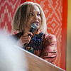 """The Rev. Susan K. Smith spoke about """"The Failure of Our Sacred Texts to Quell Our Current Faith Crisis"""" at the Hall of Philosophy on Tuesday, July 11, 2017. ERIN CLARK / STAFF PHOTOGRAPHER"""
