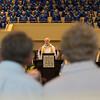 The Rev. Alan Jones delivers his sermon during Sunday Morning Worship on June 25, 2016. ERIN CLARK / STAFF PHOTOGRAPHER