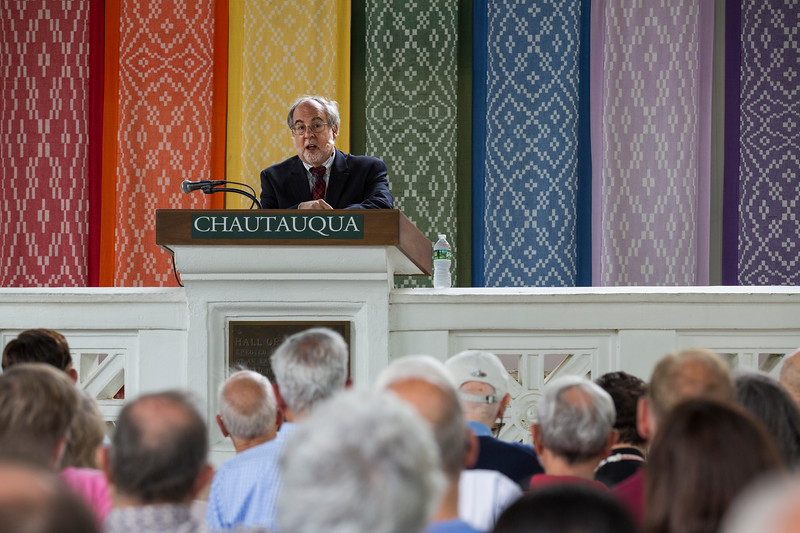Rabbi Ed Feinstein presents at the afternoon lecture on Thursday, June 29, 2017. ERIN CLARK / STAFF PHOTOGRAPHER