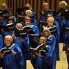 The Chautauqua Choir sings Amy Beach at 150 during The Sacred Song service in the Amp on Sunday, July 30, 2017. ERIN CLARK / STAFF PHOTOGRAPHER