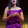 "Laura Soto-Bayomi performs Georges Bizet's ""Je dis que rien ne m'epouvante from ""Carmen"" at the Chautauqua Symphony Orchestra Opera Highlights Concert conducted by Steven Osgood in the Amp on Saturday, July 15, 2017. ERIN CLARK / STAFF PHOTOGRAPHER"