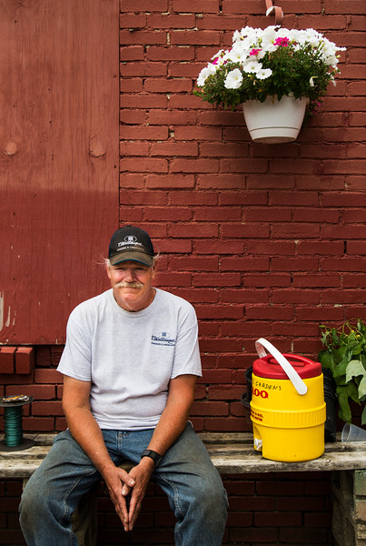 Mike Parks poses for a portrait at the Garden and Landscaping Office on Wednesday, 19, 2017. ERIN CLARK / STAFF PHOTOGRAPHER