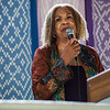 "The Rev. Susan K. Smith spoke about ""The Failure of Our Sacred Texts to Quell Our Current Faith Crisis"" at the Hall of Philosophy on Tuesday, July 11, 2017. ERIN CLARK / STAFF PHOTOGRAPHER"