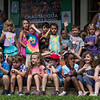 Children gather to sing songs at the Children's School open house on Friday, July 14, 2017. ERIN CLARK / STAFF PHOTOGRAPHER