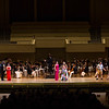 "From left, Evan Ross, Chelsea Friedlander, Helen Hassinger, Natalie Rose Havens, Mario Diaz-Moresco, and Arnold Livingston Geis perform W.A. Mozart's ""Alla bella Despinetta"" from ""Cosi fan tutte"" at the Chautauqua Symphony Orchestra Opera Highlights Concert in the Amp on Saturday, July 15, 2017. ERIN CLARK / STAFF PHOTOGRAPHER"