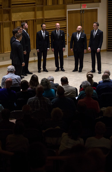 """Cantus performs """"No Greater Love Than This"""" at Lenna Hall on Tuesday, June 26, 2017. ERIN CLARK / STAFF PHOTOGRAPHER"""
