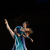 "Charlotte Ballet dancers Sarah Hayes Harkins and Ben Ingel perform ""Saudade"" during the Chautauqua Dance Salon on Thursday, July 6, 2017 in the Amp. ERIN CLARK / STAFF PHOTOGRAPHER"
