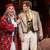 "Don Pasquale, played by Stefano de Peppo, tells Ernesto, played by Arnold Livingstone Geis,  that he's getting hitched during the performance of ""Don Pasqaule"" in Norton Hall on Tuesday, July 25, 2017. ERIN CLARK / STAFF PHOTOGRAPHER"