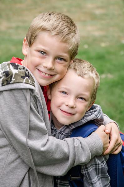 My adorable boys!