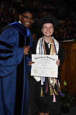 Erin's University of Richmond Graduation