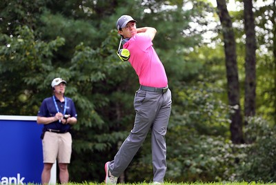 4-9-2015 PGA Tour 2015, Deutsche Bank Championship, TPC Boston, Norton, MA, USA. 04-07 Sep. Rory  McIlroy of Northern Ireland drives from the 9th tee during the first round.