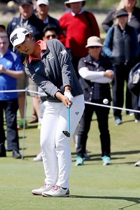 18-02-17 LPGA 2017, ISPS Hands Women's Australian Open, Adelaide, Royal Adelaide Golf Club, South Australia. 16-19 Feb. Lydia  Ko of New Zealand  during the second round.