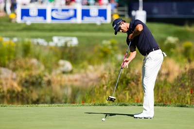 29-08-14 PGA Tour 2014, Deutsche Bank Championship, TPC Boston, Norton, MA, USA.  29 Aug - 01 Sep. Adam  Scott of Australia during the first round.