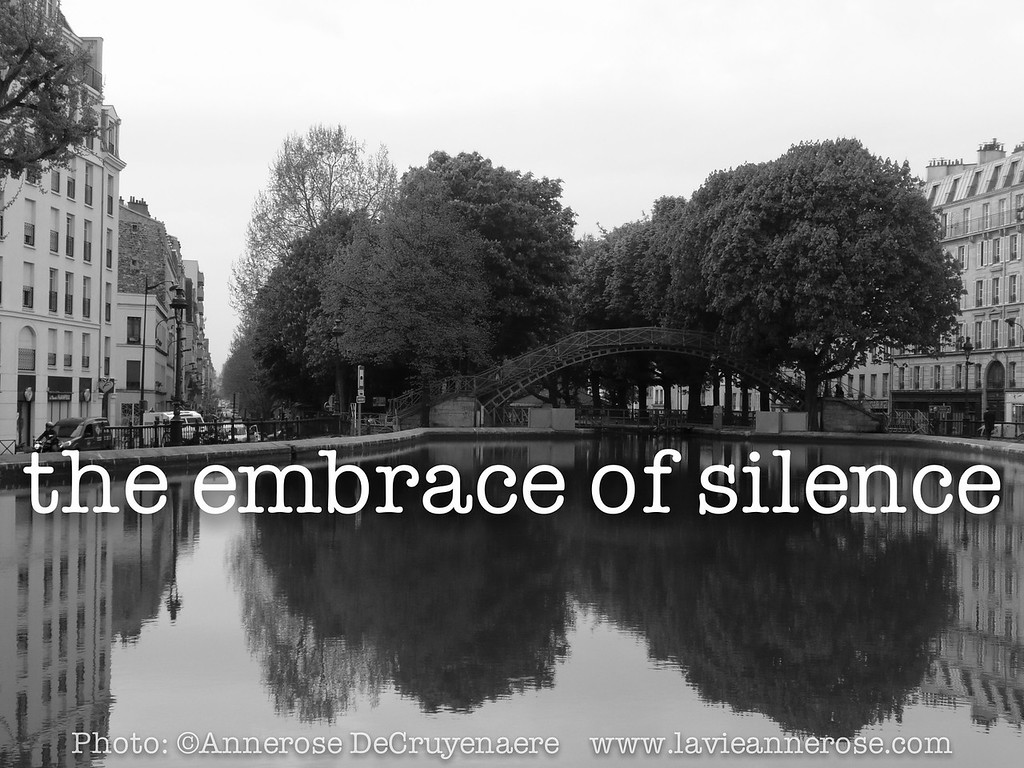 The embrace of silence