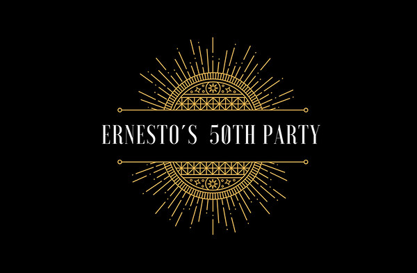 Ernesto's party 50s - 27 abril 2018