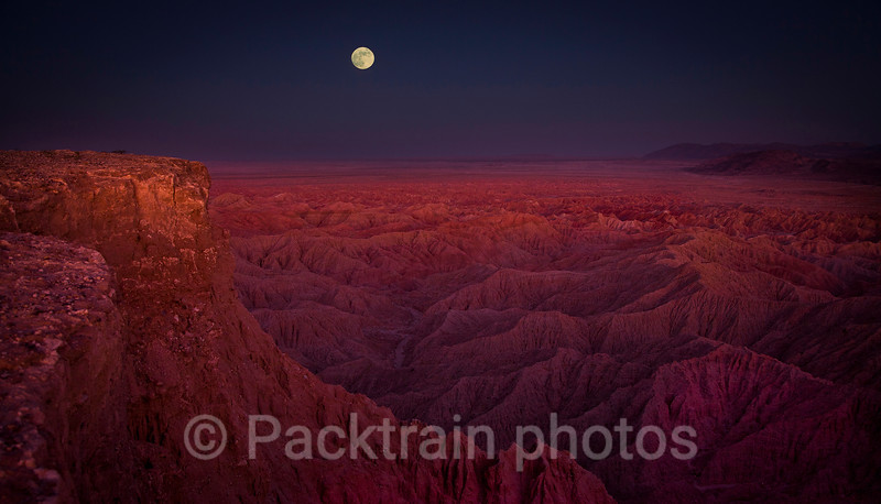 Moonrise at Font's Point  - MFP2