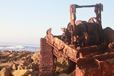 Part of Palos Verdes Shipwreck in PV