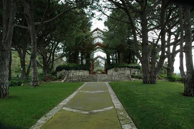 Wayfarers Chapel (front) in PV
