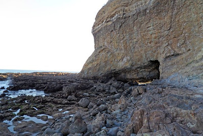 Sea Cave At Sacred Cove in PV