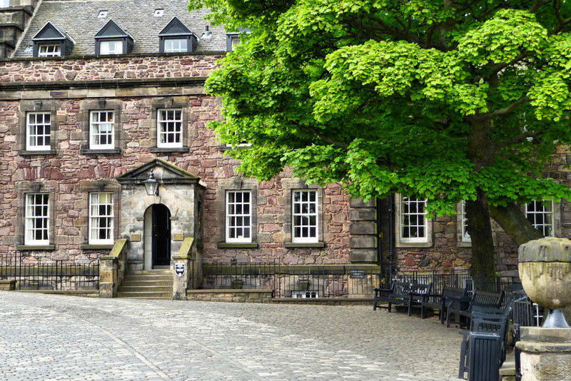 Detalhes Arquitetônicos de Edinburgh