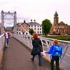 Ponte de Pedestres sobre o Rio Ness