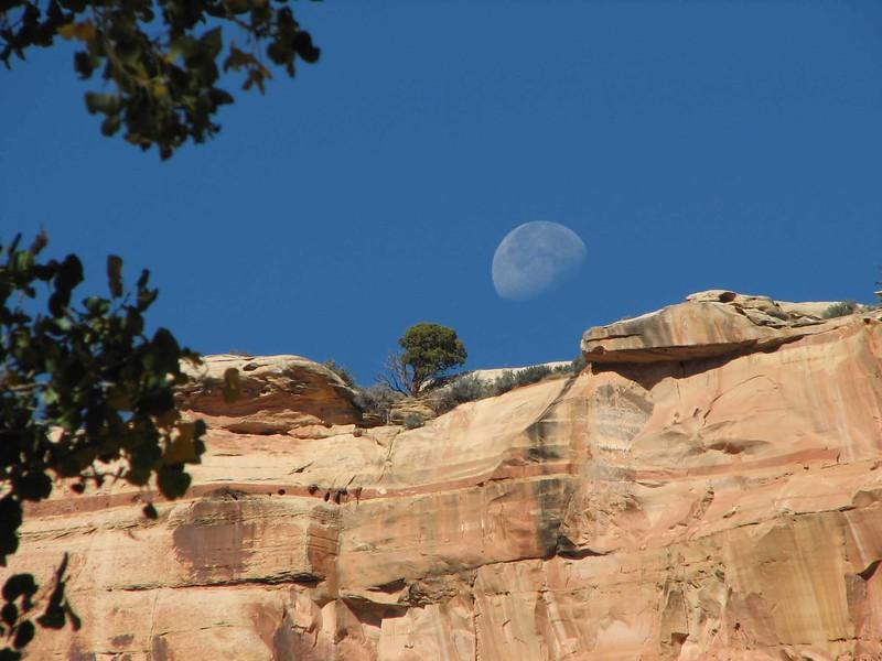 Capitol Reef Moon