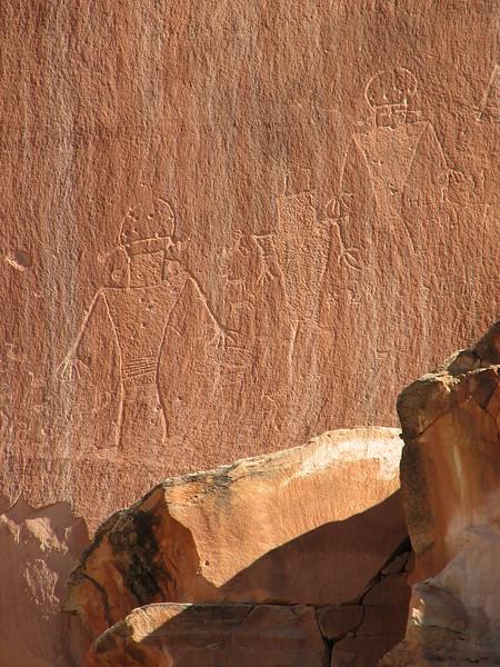 Fremont River Petroglyphs