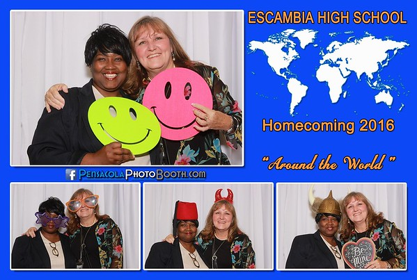 Escambia High Homecoming 9-24-2016