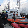 Brent getting the SF Boat Support ready