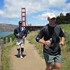Gabe and Coach Jake on The Coastal Trail