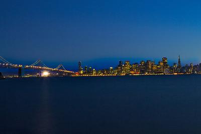 San Francisco view from Treasure Island