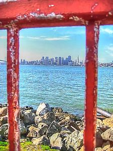 View of San Francisco from Treasure Island