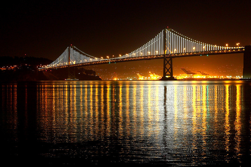Baybridge, San Francisco lights