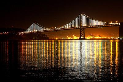 Baybridge, San Francisco lights