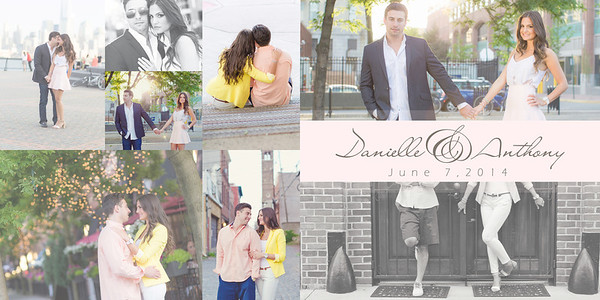 Danielle and Anthony Engagement Album Final 001 (Sides 1-2)