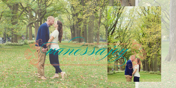 Amy and David Engagement Album 010 (Sides 19-20)