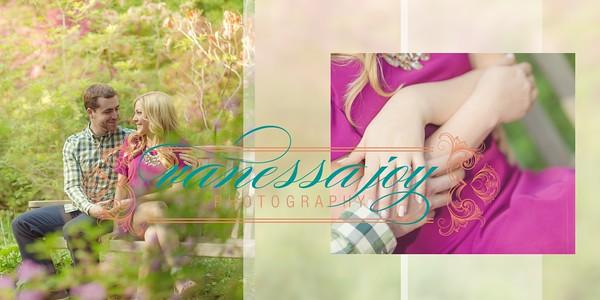 Engagement Album - Jen and Pat 009 (Sides 17-18)