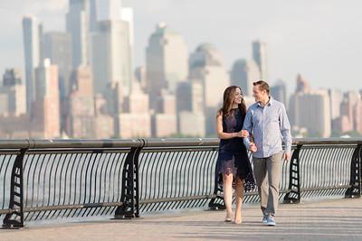 Hoboken Engagement Session 006