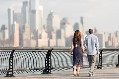 Hoboken Engagement Session 005