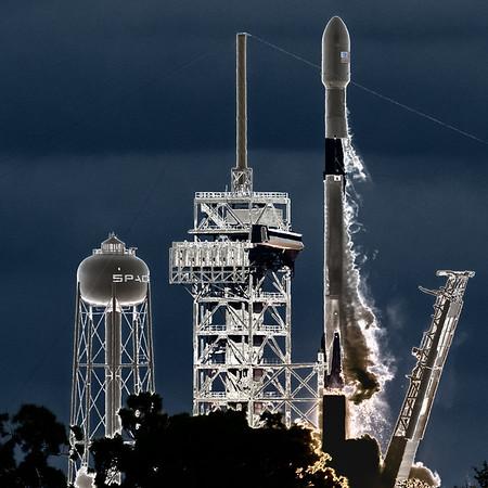 Eshail2 by SpaceX