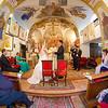 Egyházi szertartás a szentendrei izbégi templomban