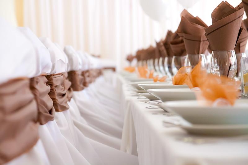 Esküvői dekoráció a Pap-szigeten