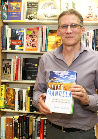 After Mandela. Discussion and booksigning by Douglas Foster at Eso Won Bookstore 3-27-2013