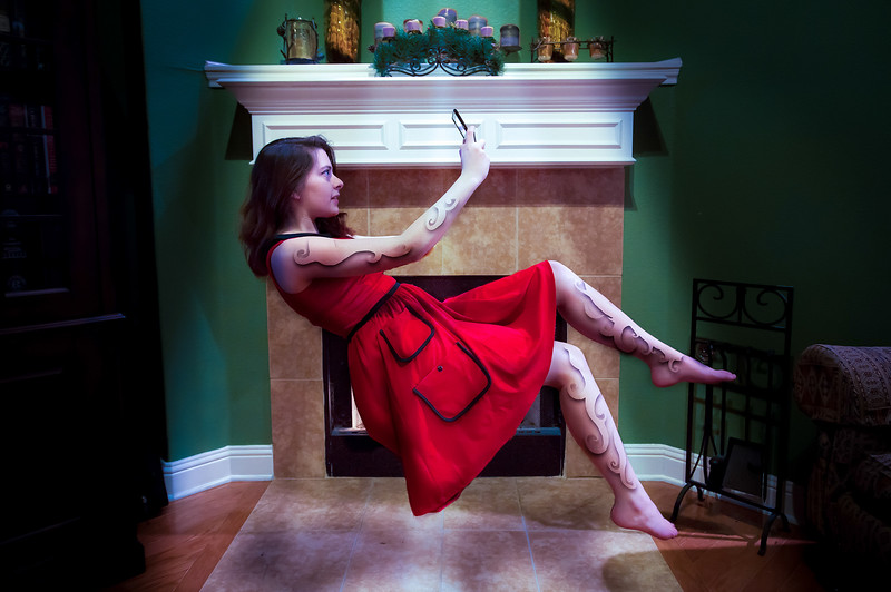 Third Place<br /> Environmental Self Portrait<br /> 2015 ATPI Winter Conference<br /> Madeline Moore <br /> McCallum HS<br /> Austin, TX<br /> Instructor: Carey West