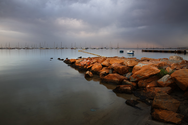 Storm over the Mar Menor