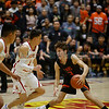 The second quarter of the Española Valley High School vs Toas High School boys basketball game at Española on March 1, 2019. Luis Sánchez Saturno/The New Mexican