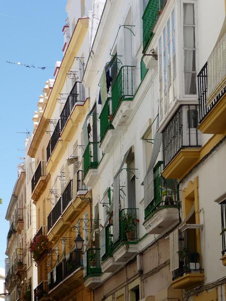 Detalhes Arquitetônicos de Cádiz